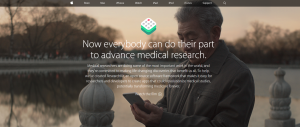 "Neue Apple-Plattform ""ResearchKit"""