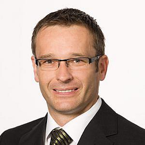 Mitinitiator und Sponsor, Dr. Erich  Eibensteiner, Janssen