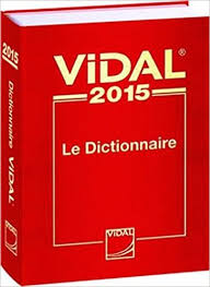 Vidal Dictionnaire in Hardcopy