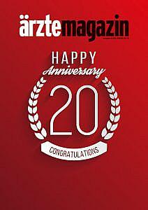 20 Jahre ärztemagazin-Cover