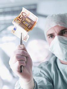 """""""Der Doktor und das liebe Geld"""" (c) getty images"""