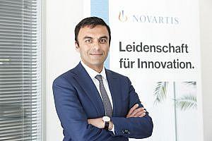 Neuer CEO für Novartis Pharma Österreich: Chinmay Bhatt (c) Novartis