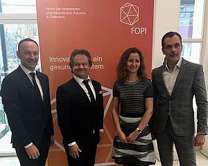 vlnr: Wolfgang Tüchler, Ingo Raimon, Ana Kostova, Roland Pichler (c) FOPI