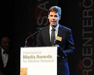 Der österreichische Preisträger Dr. Mandorfer